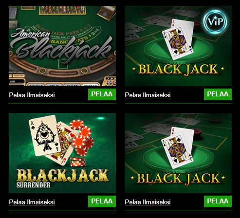 Cashpot Casinon Blackjack