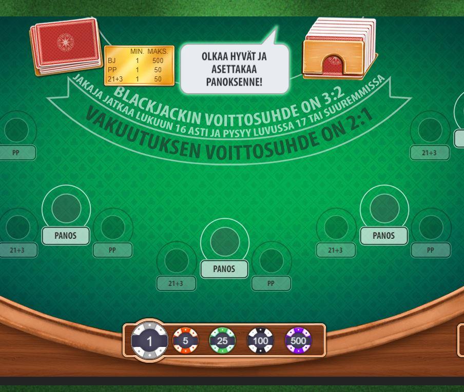 888 Blackjack -pelit