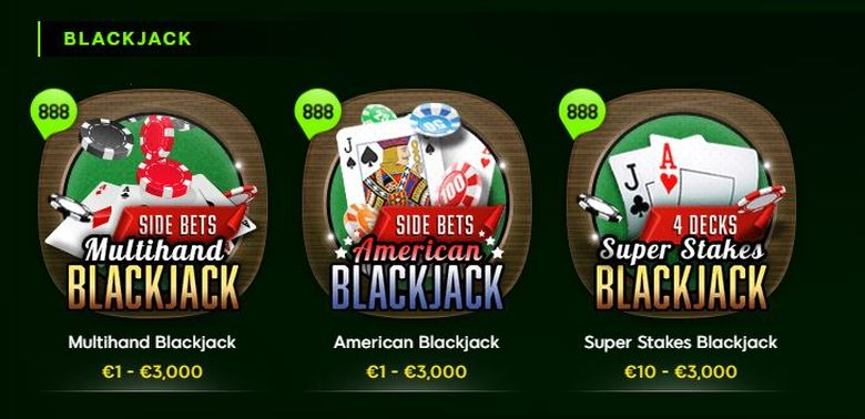 888 Blackjack
