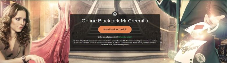 Mr Greenin blackjack